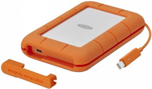 "все цены на Внешний жесткий диск 2.5"" Thunderbolt 500Gb Lacie Rugged STFS500400 оранжевый онлайн"