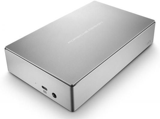 Внешний жесткий диск 3.5 USB Type-C 6Tb Lacie Porsche Design Desktop Drive STFE6000200 серебристый
