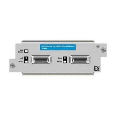 Модуль HP 2-port 10GbE CX4 al Module J9149A