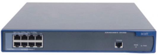 Коммутатор HP A3000-8G-PoE+ управляемый 8 портов 10/100/1000Mbps JD444A