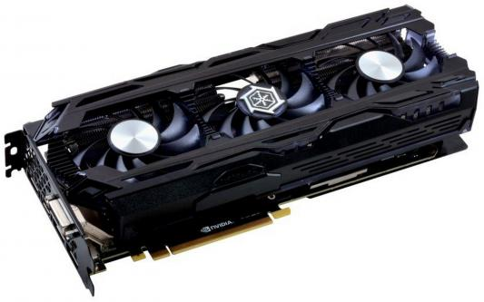 Видеокарта 11264Mb Inno3D GeForce GTX 1080 Ti iChill X3 Ultra PCI-E 352bit GDDR5X DVI HDMI DP HDCP C108T3-1SDN-Q6MNX OEM из ремонта цена и фото