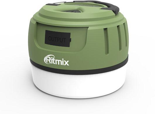 Портативное зарядное устройство Ritmix RPB-5800LT 5800мАч черно-зеленый