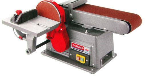 Станок шлифовальный Зубр ЗШС-500 ленточно шлифовальный станок stalex s 50 389012