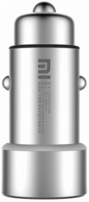 Автомобильное зарядное устройство Xiaomi GDS4048GL 2 х USB 2.4А серебристый GDS4042CN автомобильное зарядное устройство xiaomi mi car charger 2 4a серебристый