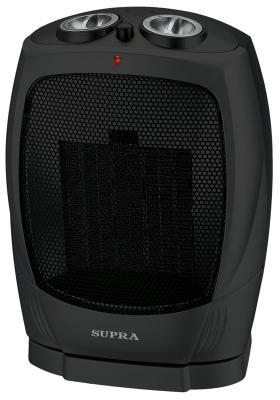 Тепловентилятор Supra TVS-PS15-2 1500 Вт термостат чёрный тепловентилятор supra tvs 18pw