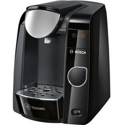 Кофемашина Bosch Tassimo TAS4502 черный серебристый