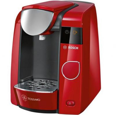 Кофемашина Bosch Tassimo TAS4503 красный черный