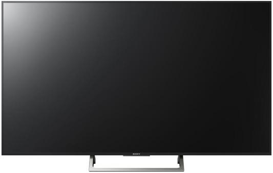 Телевизор SONY KD-55XE7096BR2 черный серебристый led телевизор sony bravia kdl43we755br r 42 5 full hd 1080p черный серебристый