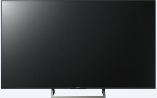 Телевизор SONY KD-55XE8577 черный серебристый жк телевизор sony oled телевизор kd 55a1