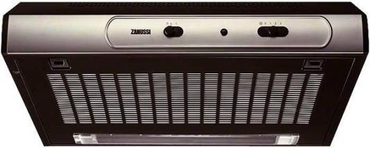 Вытяжка подвесная Zanussi ZHT530X серебристый zanussi вытяжка zanussi zht 530 w