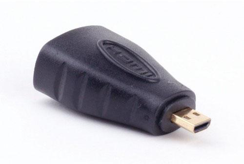 Переходник HDMI-micro HDMI Vention HDMI 19F/micro HDMI 19M H380HDD переходник vention hdmi 19f mini hdmi micro hdmi agdb0