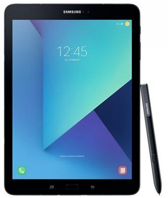 Планшет Samsung Galaxy Tab S3 9.7 32Gb черный Wi-Fi Bluetooth Android SM-T820NZKASER планшет prestigio multipad grace 3118 pmt31183gccis black mediatek mt8321 1 2 ghz 1024mb 8gb wi fi bluetooth cam 8 0 1280x800 android
