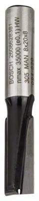 Фреза пазовая Bosch Std S8/D8/L20 2608628381