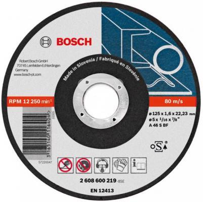 Отрезной круг Bosch 125x1.6мм 2608600219