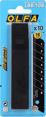 Лезвие Olfa сегментированное 18х100х0.5мм 10шт OL-LB-10B лезвие сегментированное olfa 18х100х0 5мм 8 сегментов 50шт ol lb 50b