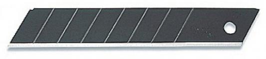 Лезвие Olfa Black Max сегментированное 18х100х0.5мм 10шт OL-LBB-10B лезвие сегментированное olfa 18х100х0 5мм 8 сегментов 50шт black max ol lbb 50b
