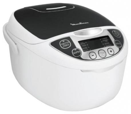 Мультиварка Moulinex MK707832 белый черный 720 Вт 5 л moulinex me640832