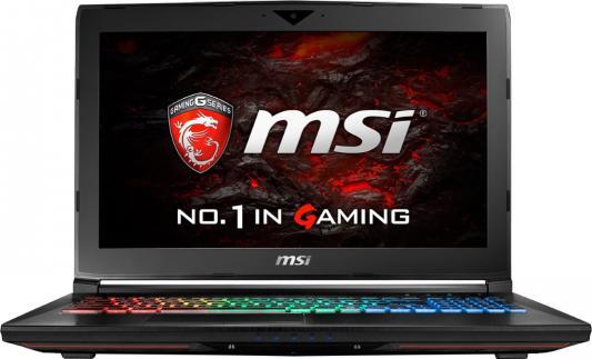 Ноутбук MSI GT62VR 7RE-426RU Dominator Pro (9S7-16L231-426) ноутбук msi gt62vr 7re dominator pro 428ru 15 6 intel core i7 7700hq 2 8ггц 8гб 1000гб nvidia geforce gtx 1070 8192 мб windows 10 черный [9s7 16l231 428]
