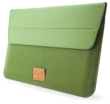 "Чехол для ноутбука MacBook Air 13"" Cozistyle ARIA Stand Sleeve CASS1305 Fern Green зеленый цена и фото"
