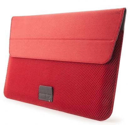 Сумка для планшета MacBook Air 13 Cozistyle ARIA Stand Sleeve MacBook 13 Air/ Pro Retina - Flame Red полиуретан поликарбонат красный