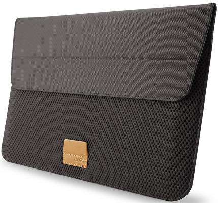 Чехол для ноутбука MacBook Pro 15 Cozistyle ARIA Stand Sleeve поликарбонат серый CASS1523 сумка cozistyle aria smart sleeve macbook 15 pro retina lily white