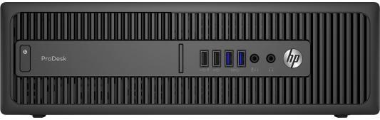 Системный блок HP ProDesk 600 G2 SFF i5-6500 3.2GHz 4Gb 500Gb HD530 DVD-RW DOS черный Z4C31EA