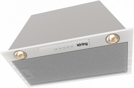 Вытяжка встраиваемая Korting KHI 6530 X серебристый вытяжка встраиваемая korting khi 6410 x серебристый