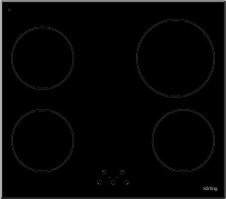 Варочная панель электрическая Korting HI 64021 B черный