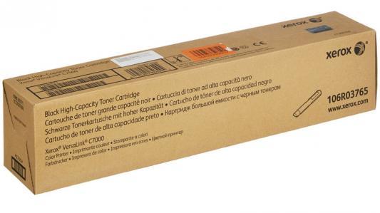 Картридж Xerox 106R03765 для VersaLink C7000 черный 10700стр картридж xerox 106r03765 для xerox versalink c7000 черный