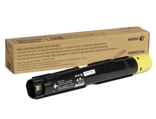 Картридж Xerox 106R03746 для VersaLink C7020/C7025/C7030 желтый 16000стр
