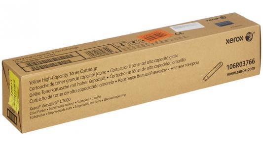 Картридж Xerox 106R03766 для VersaLink C7000 желтый 10000стр фотобарабан xerox 113r00779 для xerox versalink b7000