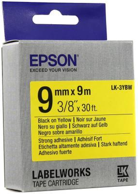 Лента Epson LK-3YBW C53S653005 лента epson lk 4sbm c53s654019