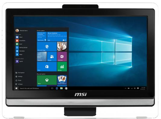"MSI Pro 20ET 7M-024RU   19.5""(1600x900)/Touch/Intel Core i3 7100U(2.4Ghz)/4096Mb/1000Gb/DVDrw/Int топ zimmerli 7182818 белый m int 46 ru"