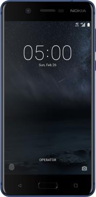 Смартфон NOKIA 5 DS 16 Гб синий (11ND1L01A15) смартфон nokia nokia 3 ds ta 1032 black