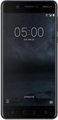 Смартфон NOKIA 5 DS 16 Гб черный (TA-1053) смартфон nokia 8 ds ta 1004 copper