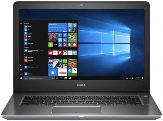 Ноутбук Dell Vostro 5468 Core i3 6006U/4Gb/500Gb/Intel HD Graphics 520/14/HD (1366x768)/Windows 10 Home 64/grey/WiFi/BT/Cam ноутбук dell vostro 5468 14 1366x768