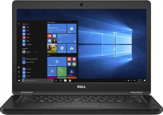 "Ноутбук Dell Latitude 5480 Core i5 6200U/8Gb/SSD256Gb/Intel HD Graphics 520/14""/FHD (1920x1080)/Windows 7 Professional 64 +W10Pro/black/WiFi/BT/Cam"
