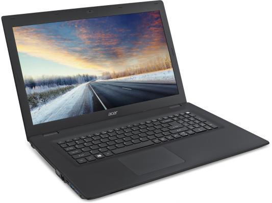 "Ноутбук Acer TravelMate TMP278-M-39EF Core i3 6006U/4Gb/500Gb/DVD-RW/Intel HD Graphics 520/17.3""/HD+ (1600x900)/Linux/black/WiFi/BT/Cam/2520mAh"