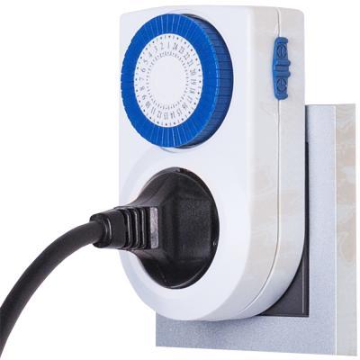 Розетка-таймер Elektrostandard TMH-M-3 16A x1 IP20 Белый 4690389032400 от 123.ru