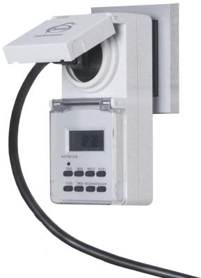 Розетка-таймер Elektrostandard TMH-E-6 16A x1 IP44 Белый 4690389032431 от 123.ru