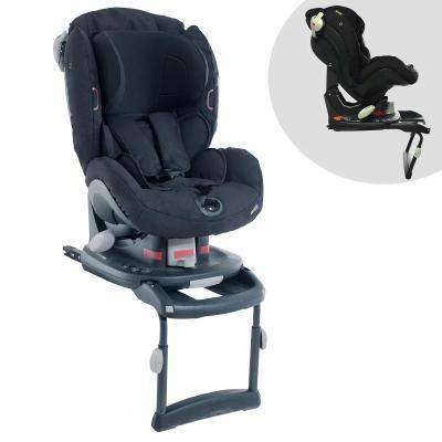 Купить Автокресло BeSafe iZi-Comfort X3 Isofix (fresh black cab), Черный, Группа 1 (9-18 кг/от 1 до 3.5-4 лет)