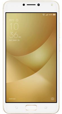 Смартфон ASUS ZenFone 4 Max ZC554KL золотистый 5.5 16 Гб LTE Wi-Fi GPS 3G 90AX00I2-M00020 смартфон asus zenfone zf3 laser zc551kl золотистый 5 5 32 гб wi fi lte gps 3g 90az01b2 m00050
