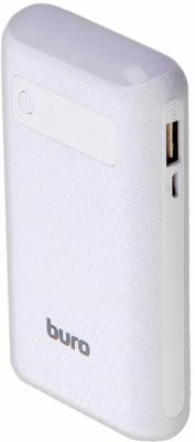 Портативное зарядное устройство Buro RC-7500A-W 7500мАч белый портативное зарядное устройство buro rc 7500a b 7500мач черный