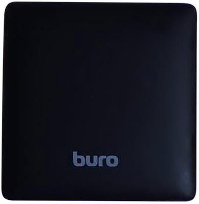 Портативное зарядное устройство Buro RA-7500PL-BK Pillow 7500мАч черный защитная плёнка для sony e6683 xperia z5 антибликовая luxcase