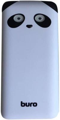 Портативное зарядное устройство Buro RA-10000PD-WT Panda 10000мАч белый