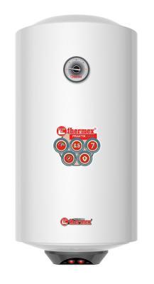 Водонагреватель накопительный Thermex Praktik 50 V Slim 50л 2.5кВт белый электрический накопительный водонагреватель thermex praktik 150 v