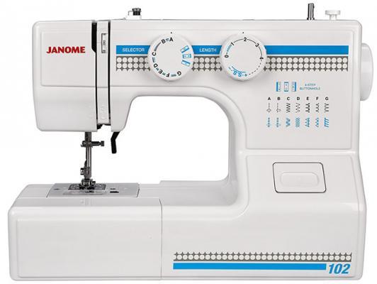 Швейная машина Janome 102 белый