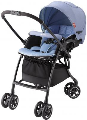 Прогулочная коляска Aprica Luxuna Comfort (голубой) прогулочные коляски aprica luxuna air