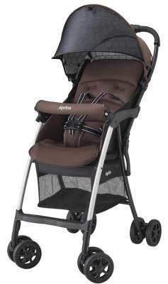 Прогулочная коляска Aprica Magical Air Plus 2017 (коричневый) прогулочные коляски aprica luxuna air