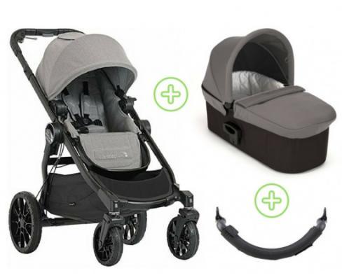 Коляска 2-в-1 Baby Jogger City Select Lux (набор 2/state) дождевик baby jogger city select single seat rain canopy